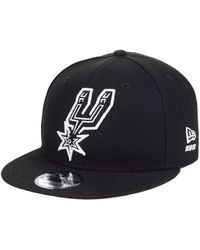 check out 3c8a6 9165f KTZ San Antonio Spurs Hwc Tri-all Print 9fifty Snapback Cap in Purple for  Men - Lyst