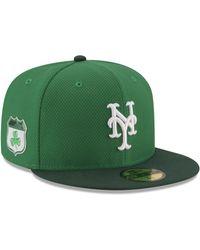 KTZ - New York Mets St. Pattys Diamond Era 59fifty Cap - Lyst 1fa41045a326