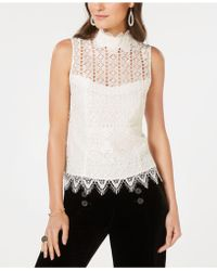 Nanette Lepore - Lace Top, Created For Macy's - Lyst