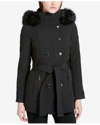 Calvin Klein   Double-breasted Softshell Jacket   Lyst