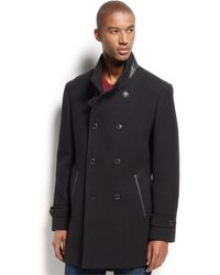 INC International Concepts - Ted Wool-blend Coat, Only At Macy's - Lyst
