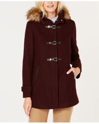 Cole Haan - Signature Twill Wool-blend Coat - Lyst