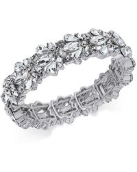 Charter Club - Crystal Stone Stretch Bracelet - Lyst