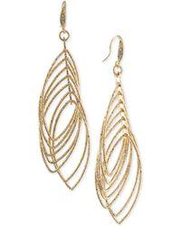 ABS By Allen Schwartz - Multi Ring Gypsy Drop Earrings - Lyst