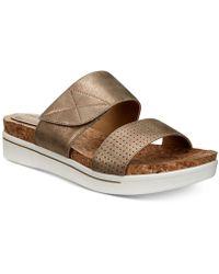 Adrienne Vittadini - Calais Flat Sandals - Lyst