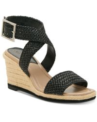 5424348795a Enzo Angiolini - Porice2 Wedge Sandals - Lyst