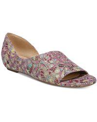 39a80fa89040 Lyst - Naturalizer Kimono Flat Sandals