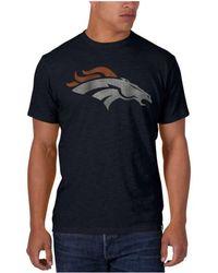 47 Brand - Men's Denver Broncos Logo Scrum T-shirt - Lyst
