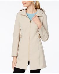 Via Spiga - Side-tab Raincoat - Lyst