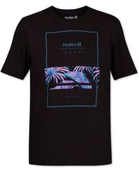 Hurley - Chasing Paradise Graphic T-shirt - Lyst