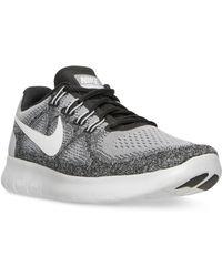 Nike | Women's Free Run 2017 Running Sneakers From Finish Line | Lyst