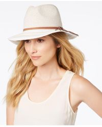 INC International Concepts - I.n.c. Striped-brim Panama Hat, Created For Macy's - Lyst