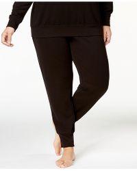 Alfani   Plus Size Ribbed-cuff Pajama Pants, Created For Macy's   Lyst