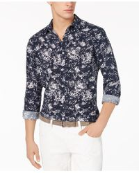INC International Concepts - Miguel Splatter-print Shirt, Created For Macy's - Lyst