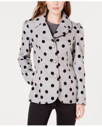 Maison Jules - Polka-dot Jacket, Created For Macy's - Lyst
