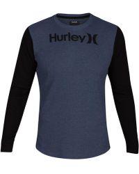 Hurley - Men's Overtime Pano Logo-print Knit T-shirt - Lyst