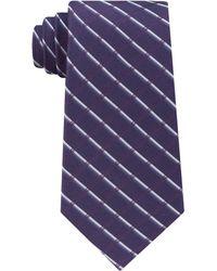 CALVIN KLEIN 205W39NYC - Men's Classic Shadow Grid Silk Tie - Lyst