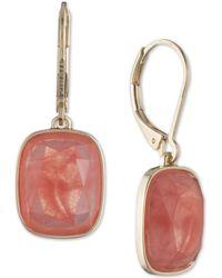 Nine West - Stone Drop Earrings - Lyst