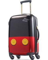 """American Tourister - Mickey Mouse 21"""" Carry-on Spinner Suitcase - Lyst"""