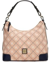 Dooney & Bourke - Signature Erica Hobo, Created For Macy's - Lyst