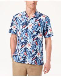 Tommy Bahama - Tulum Bloom Silk Shirt - Lyst
