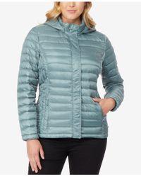 54d08a1aa20d8 Lyst - 32 Degrees Plus Size Packable Waterproof Anorak Jacket in Black