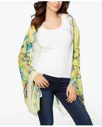 INC International Concepts - I.n.c. Hummingbird Floral Sarong Cover-up & Wrap, Created For Macy's - Lyst