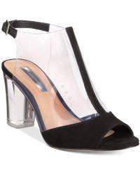 INC International Concepts - Kelisin Block Heel Dress Sandals, Created For Macy's - Lyst