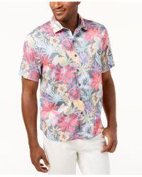Tommy Bahama - Fuego Floral-print Shirt - Lyst