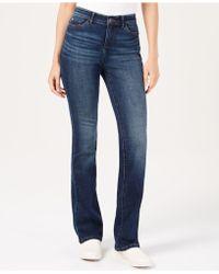 Lee Platinum - Petite Flex Motion Bootcut Jeans - Lyst