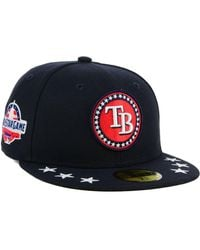 save off fa5b5 237ae KTZ - Tampa Bay Rays All Star Workout 59fifty Fitted Cap - Lyst