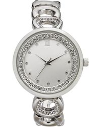 Charter Club - Silver-tone Link Bracelet Watch 33mm, Created For Macy's - Lyst