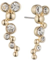 Lonna & Lilly - Gold-tone And Crystal Bubble Ear Cuff - Lyst