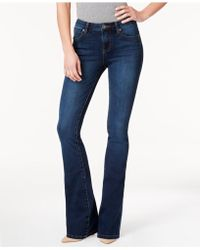 Kut From The Kloth - Natalie Curvy-fit Admiration Wash Bootcut Jeans, Created For Macy's - Lyst