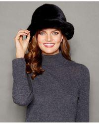 The Fur Vault - Mink Fur Hat - Lyst