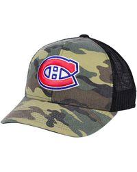 adidas - Montreal Canadiens Camo Trucker Cap - Lyst
