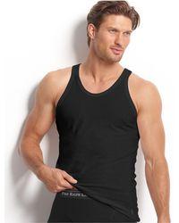 Polo Ralph Lauren - Men's Underwear, Slim-fit Stretch Cotton Jersey Tank 3 Pack - Lyst