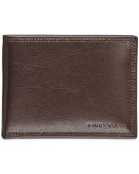 Perry Ellis | Men's Leather Rfid Passcase | Lyst
