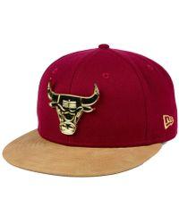 finest selection fd8ce af05b KTZ Chicago Bulls Fall Floral 9fifty Snapback Cap for Men - Lyst