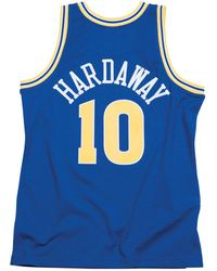 7440ad84a48 Mitchell & Ness - Tim Hardaway Golden State Warriors Hardwood Classic  Swingman Jersey - Lyst