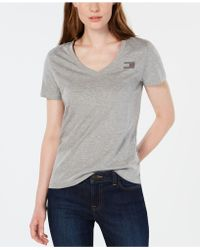 Tommy Hilfiger - Rhinestone Flag Cotton T-shirt, Created For Macy's - Lyst