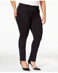 Celebrity Pink - Trendy Plus Size Smart Trouser Jeans - Lyst