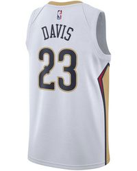 top fashion d284c c2d0f Nike Anthony Davis New Orleans Pelicans City Swingman Jersey ...