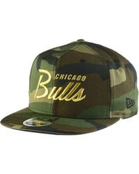 newest 78924 ceffd KTZ Chicago Bulls Power Blue Hook 9fifty Snapback Cap in White for Men -  Lyst