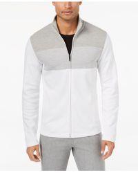 Alfani - Men's Colorblocked Full-zip Jacket - Lyst