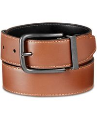 Original Penguin - Bubble Reversible Leather Belt - Lyst
