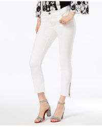 INC International Concepts - Step-hem Skinny Jeans, Created For Macy's - Lyst