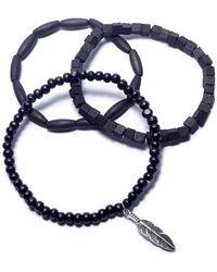 Rogue Accessories - Men's 3-pc. Fairhope Bracelet Set - Lyst