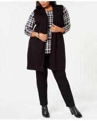 Alfani - Long Jumper Vest, Created For Macy's - Lyst