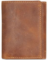 Patricia Nash - Leather Tri-fold Wallet - Lyst